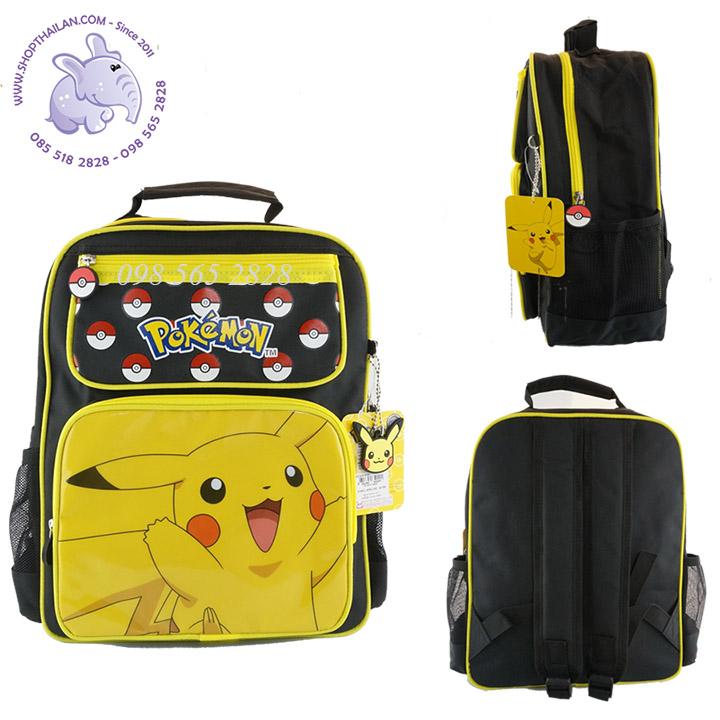 Ba lô học sinh cấp 2  Pokemon Thái Lan- PO65-020